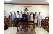 Vinh University works with Zielona Gora University's delegation