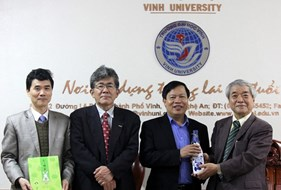 Japanese guests visited Vinh University right after Lunar New Year Holiday