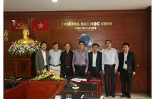 Vinh University and Trung Vuong University signed a mutual cooperation agreement