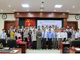 Ha Noi National University awarded the certificate of higher education quality accreditor (17th course) at Vinh University