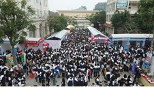 More than 5,000 Nghe An students attended the Career Orientation and Enrollment Consultancy Program in 2019